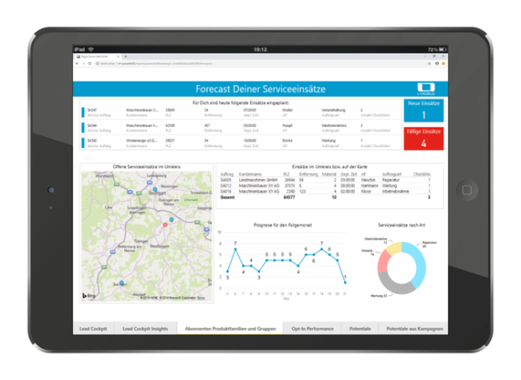 Reporting_L-mobile_Service_App_Management_Software_Servicetechniker_App